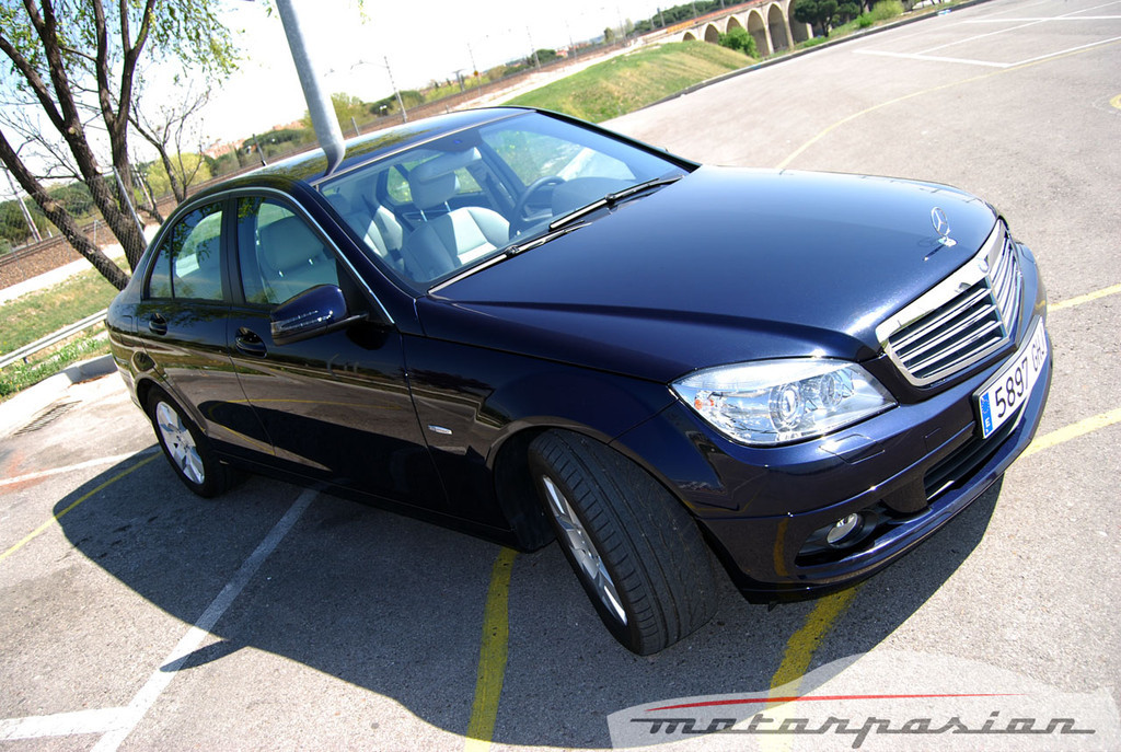 Mercedes Clase C 200 CDI BlueEfficiency (prueba)