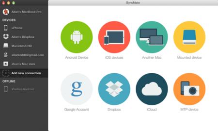 SyncMate, el foco de sincronización del Mac para casi cualquier dispositivo