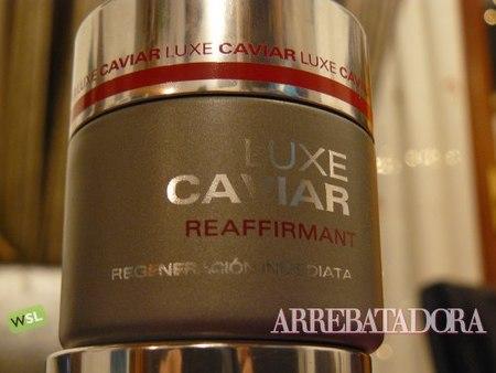 Luxe Caviar, probamos la crema de caviar del Mercadona