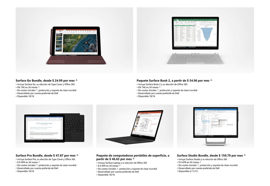 Surface All Access: el plan de Microsoft℗ para que tener un aparato Surface sea má accesible para todos