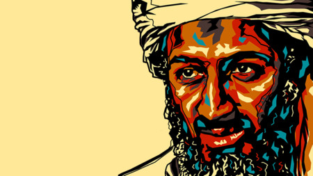 Osama Bin Laden Pop Art Ppcorn
