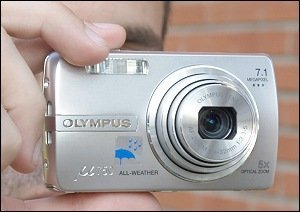 Olympus µ 750, primeras impresiones