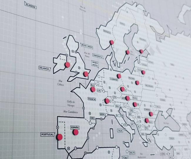 Mapa Viajes