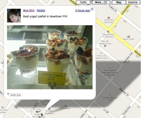 Buzz Google maps recomendacion