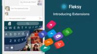 Teclado Fleksy 5.0 para Android, ahora con extensiones y 14 nuevos temas