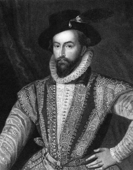 Estilo Sir Walter Raleigh