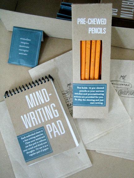 Kit de escritores bloqueados