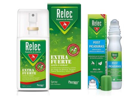 Pack ahorro antimosquitos Relec Extra Fuerte con Relec Post-Picaduras en spray rebajado a 10,96 euros en Amazon