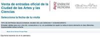 """Valencia, La Ciudad de las Artes y las Ciencias pone las entradas """"online"""" con descuento"""