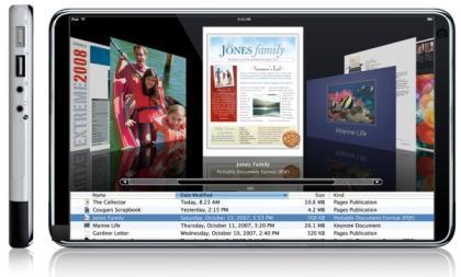 Apple podría estar preparando un NetBook multitáctil para verano