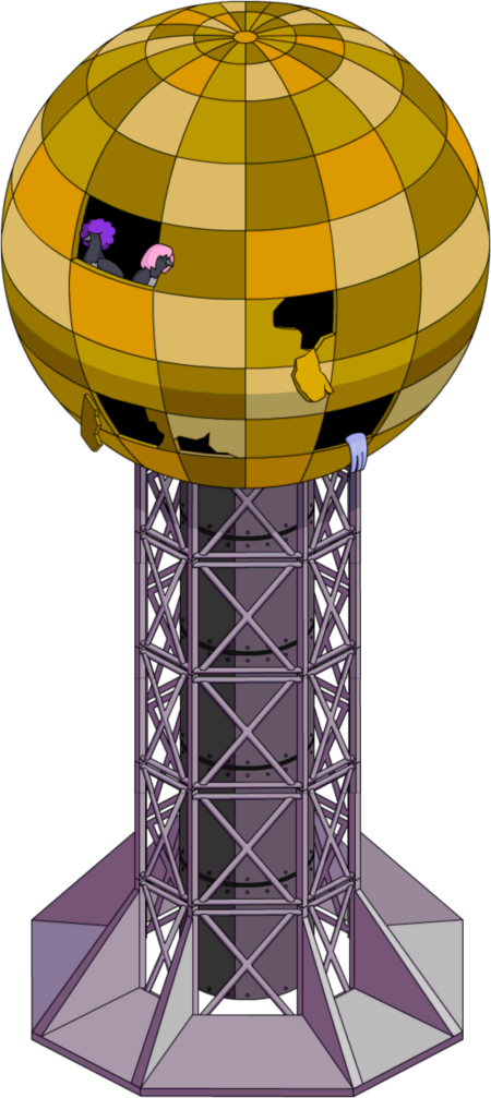 Tapped Out The Sunsphere