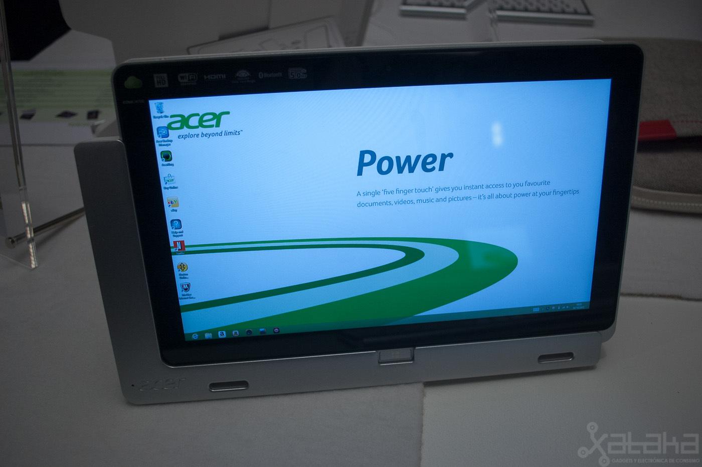 Foto de Acer Iconia W700, primeras impresiones (12/15)