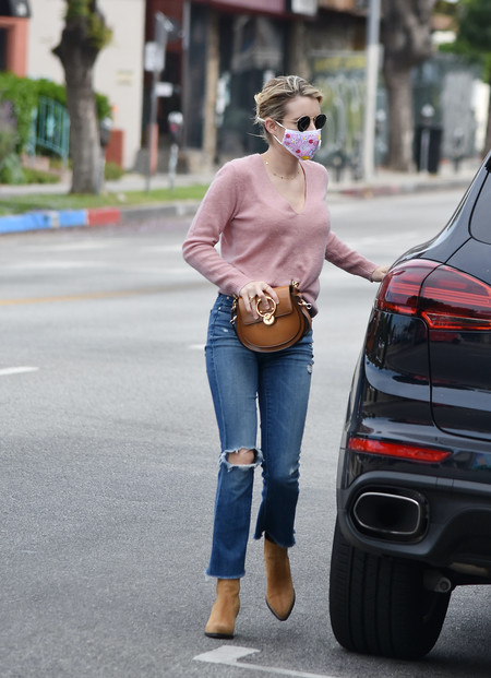Olivia Palermo Emma Roberts Looks Street Style 02