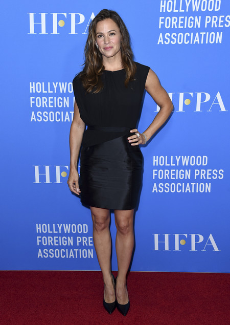 hfpa banquete red carpet Jennifer Garner
