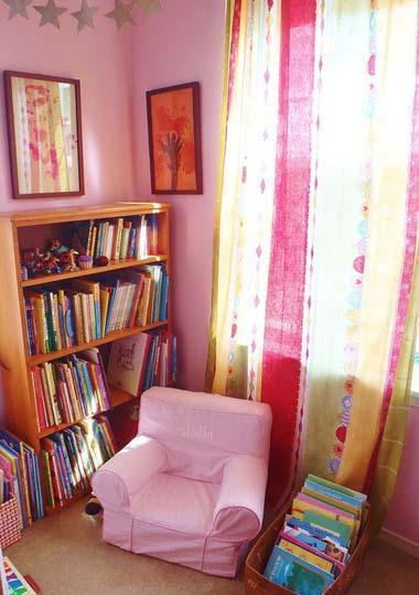 Cómo crear un rincón de lectura en la habitación infantil
