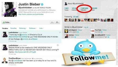 Sanson Bieber, vende pelo y compra followers