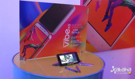Lenovo presentó en Colombia el Vibe K5, un teléfono para entretener