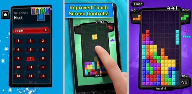 Tetris, juego para Android