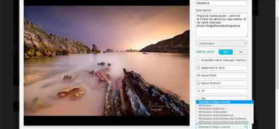 500px se pasa a Creative Commons, por fin
