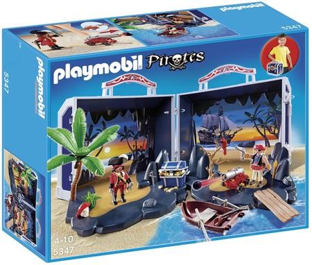 Cofre Del Tesoro Pirata De Playmobil