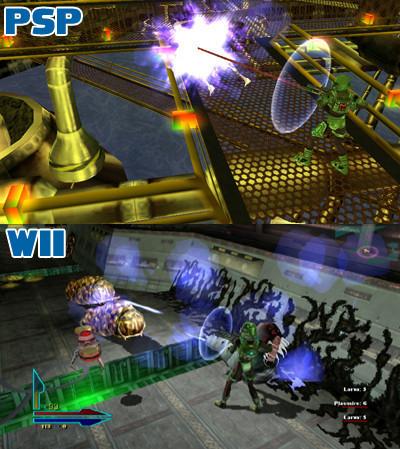 Similitud gráfica entre PSP y Wii
