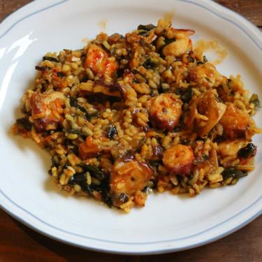Arroz con pulpo y algas wakame, la receta para sorprender a todos
