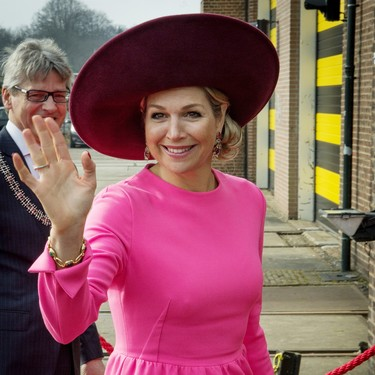 Si quieres ir de rosa a tu próxima boda, inspírate en Máxima de Holanda