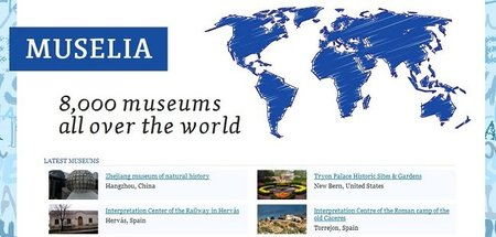 Muselia, más de 8 mil museos del mundo en un mismo sitio