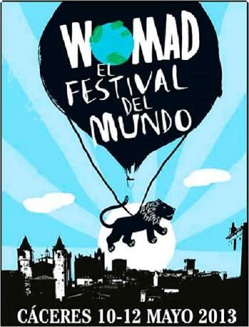Música gratis en el 'Festival Womad' de Cáceres para mayo