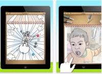 iColoringBook, programas para colorear y dibujar en iOS