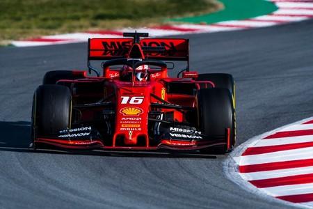 Leclerc Melbourne Ferrari