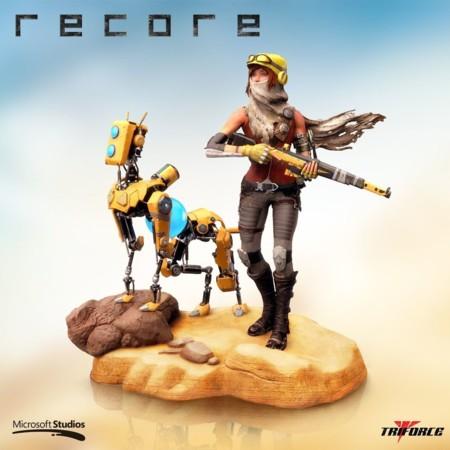 ReCore mantiene su fecha de lanzamiento y estará acompañado de una edición coleccionista