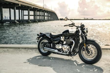 Speedmaster, la Triumph Bonneville nacida para conquistar USA ahora es más rápida, bella y segura