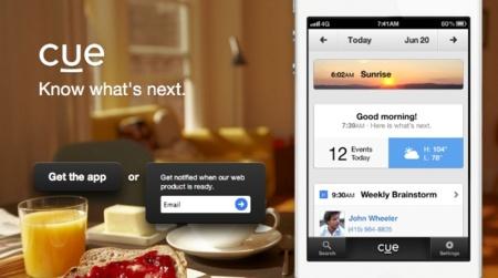 Greplin se convierte en Cue, una aplicación para ver tu agenda diaria cómodamente