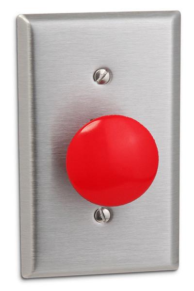 Coloca un botón de pánico como interruptor de la luz