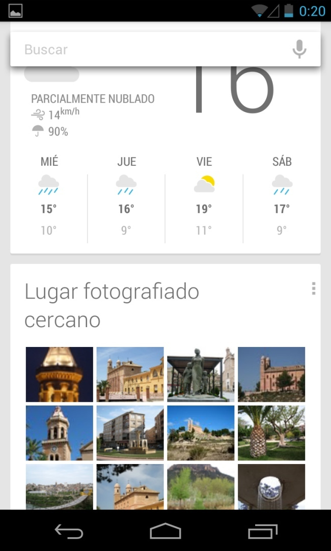 Foto de Android 4.2 capturas (13/19)