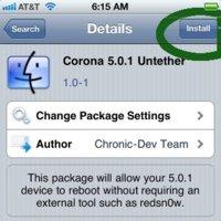 Disponible el jailbreak untethered de iOS 5.0.1 para dispositivos con procesador A4