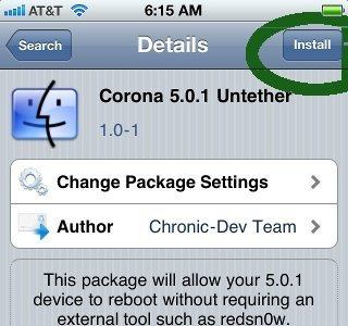 Disponible el jailbreak untethered de iOS 5.0.1 para dispositivos con procesador A4