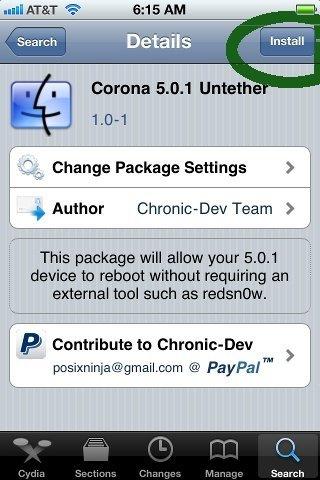 jailbreak 5.0.1 iOS iphone untethered