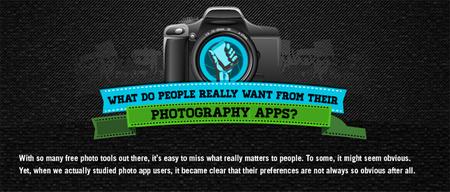 Lo que hay detrás de las aplicaciones fotográficas (Infografía)