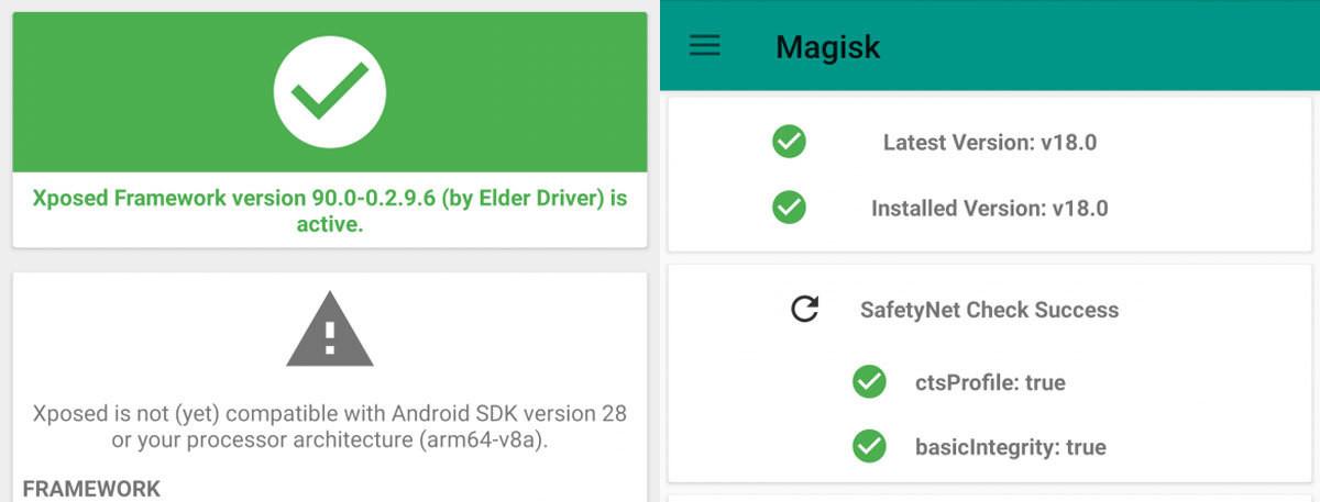 Una versión de Xposed Framework ya funciona en Android Pie