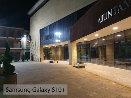Samsung Galaxy S10plus Auto Noche