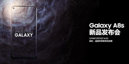 Galaxy A8s Presentacion