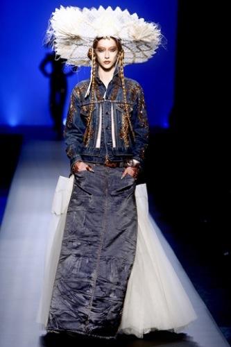 Jean Paul Gaultier Alta Costura Primavera-Verano 2010. México