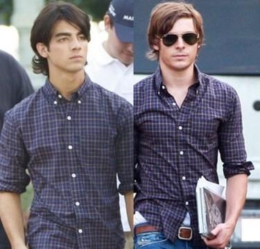 Cuestión de estilo: Zac Efron Vs Joe Jonas