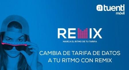 Tuenti Móvil Remix, los bonos de datos semanales para prepago por uno y dos euros de Tuenti Móvil