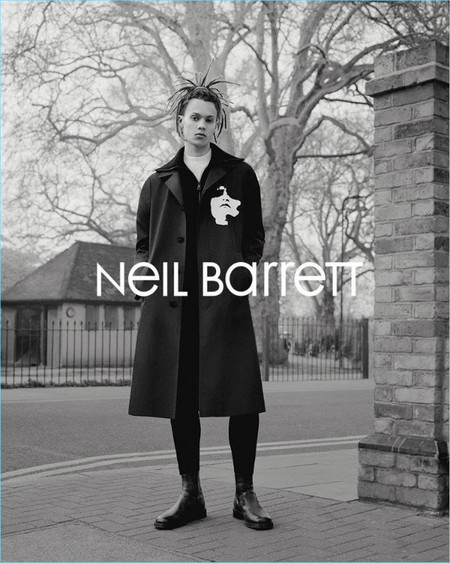 Neil Barrett Fall Winter 2017 Campaign 001
