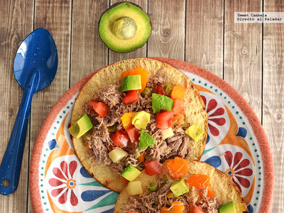 Tostadas de salpicón de carne, gelatina de café especiada y más en Directo al Paladar México