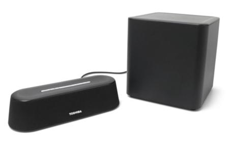Toshiba ya tiene una barra de sonido compacta para el uso que quieras