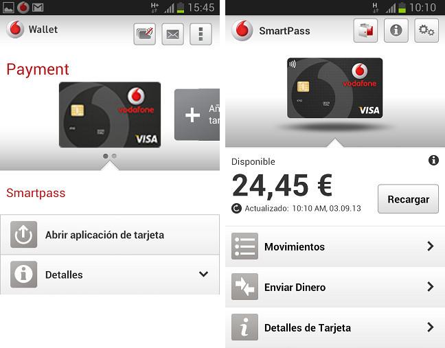 Vodafone wallet SmartPass